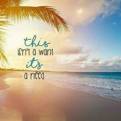 I need a vacation to the beach soooo badly! I need a vacation soooo urgent! Ocean Quotes, Beach Quotes And Sayings, Beach Life Quotes, Beach Vacation Quotes, Aloha Quotes, Hawaii Quotes, Florida Quotes, Summer Beach Quotes, Water Quotes
