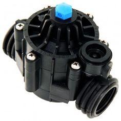 Electroválvulas para riego sin presión, con rosca hembra de diferentes medidas. Garantizan un cierre completo en total ausencia de presión.