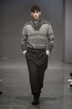 A.AV. Fall Winter 2015 Otoño Invierno #tendencias #Trends #Menswear #Moda Hombre Seoul Fashion Week  M.F.T.