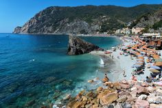 Gorgeous! Monterosso al Mare is one of the five villages in Cinque Terre, Italy. by Angelo Ferraris