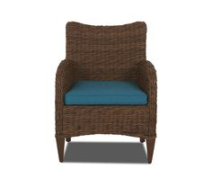 Klaussner Outdoor Outdoor/Patio Palmetto Dining Chair W1400 DRC - Klaussner Outdoor - Asheboro, NC