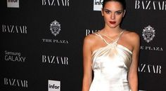 Now it is quite clear that Kendall Jenner was one of the busiest and hottest looking models of this season's New York Fashion Weeks. Kendall Jenner Outfits, Naomi Campbell, Fashion News, One Shoulder Wedding Dress, Celebrity Style, Camisole Top, Tank Tops, Formal Dresses, Celebrities
