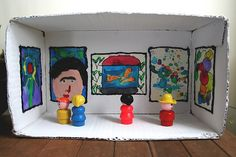 eva's gallery diorama | Flickr - Photo Sharing!