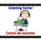 This is a set of center signs for the bilingual or dual language classroom. English words are in blue and Spanish words in red.  It includes 18 cen...