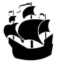 pirate ship silhoutte - Search