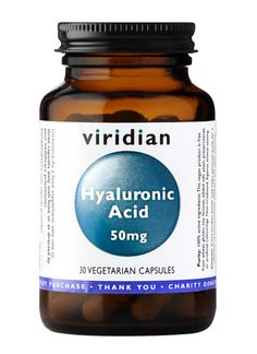 My skin needs a helping hand and this is it. Viridian Hyaluronic Acid 50mg - Viridian