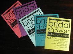 bridal shower diamond ring invites