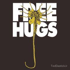"""Free Hugs"" T-Shirts & Hoodies by TedDastickJr   Redbubble"