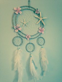 Beach Dreamcatcher by Oceanlovee2 on Etsy