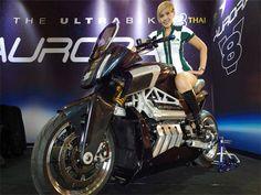 Aurora Hellfire OZ26: La poderosa motocicleta de los australianos