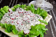 Jajka w sosie tatarskim Lettuce, Vegetables, Ethnic Recipes, Food, Rezepte, Veggies, Essen, Vegetable Recipes, Salad