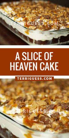 A SLICE OF HEAVEN CAKE