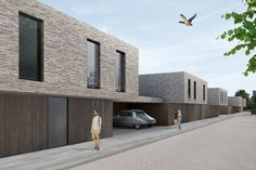 competition for social housing - by Rolies + Dubois Architects