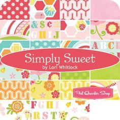 """Simply Sweet 10"""" Stacker Lori Whitlock for Riley Blake Designs"""