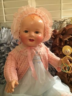 Restored Happy Baby Composition Doll
