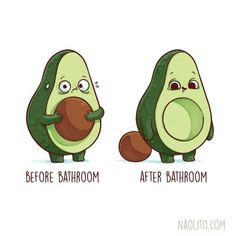 Super Cute Before and After Illustrations - Media Chomp Funny Illustration, Illustrations, Geek Art, Going To The Gym, Sloth, Literature, Geek Stuff, Hilarious, Super Cute