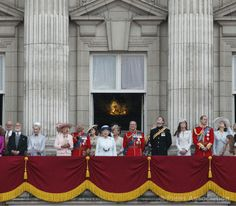 Watching Trooping of the Guard