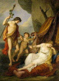 Bacchus and Ariadne by Angelica Kauffmann