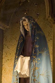 1376689.  A statue of the Virgin Mary in Santo Antonio Church.