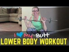 Barbell Booty Builder - I {Heart} My Butt Grab your barbell and let's build that booty!  We're tackling just a few tough exercises that target the hamstrings and glutes with the weight challenge of a barbell (you can also easily substitute a set of dumbbells).  The pace of this workout is slow and controlled, but you'll still work up a great sweat while shaping and firming your back side!