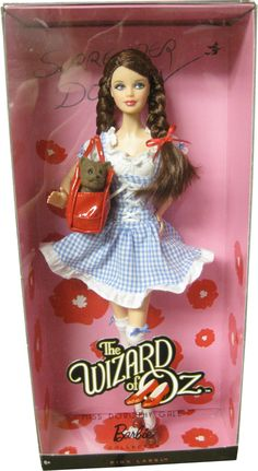 Pink label fan club The wizard of Oz Miss Dorothy Gale Barbie doll 2 Celebrity Barbie Dolls, Disney Barbie Dolls, Barbie Fashionista Dolls, Barbie Toys, Barbie I, Barbie Dream, Vintage Barbie Dolls, Barbie And Ken, Vintage Toys
