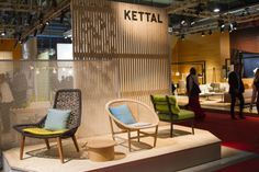 http://www.covetlounge.net/ | Kettal Stand - Salone del Mobile 14
