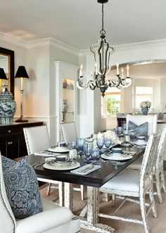 Find This Pin And More On Paint Colors Dining Room With Coastal Decor