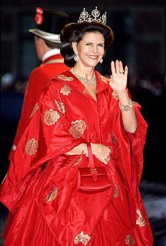 Queen Silvia Of Sweden Attends The Wedding Of Prince Joachim Princess Alexandra Of Denmark At Frederiksborg Castle
