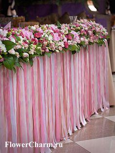 Розовая свадьба в ресторане «Pin-Up Rooms» Цветочное очарование - Цветочное очарование