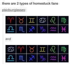 I think this is the only thing Homestucks fight about, and even then its just a minor issue. The top one is in the correct order of the zodiac and supports the theory that Karkat would be a lime blood, but had a mutation that made his blood red. The bottom one is more aestheticly pleasing, and is what I think is the correct order of the hemospectrum when you take into account Karkat's red blood and pay no attention to the limeblood theory. -intelligentVictrix