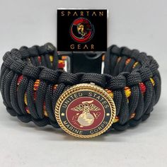 GET THE PERFECT SIZE Here at Spartan Gear we custom build each piece of gear based on your exact wrist measurement. We want the size of your wrist, not the length you would like the bracelet. We ask that you follow these 3 steps closely: 1) Take a tape measure, string, or scotch tape and wrap it Usmc Emblem, King Cobra, Scotch Tape, Paracord Bracelets, Yellow Black, Watch Bands, Overlays, Two By Two, Braids