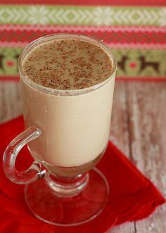 crock pot eggnog lattes