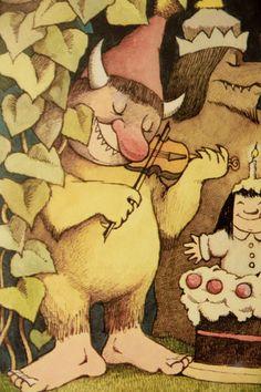 #Maurice #Sendak illustration poster