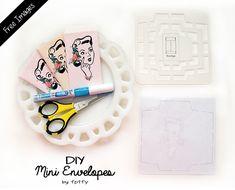 Mini Envelope Template Freebies