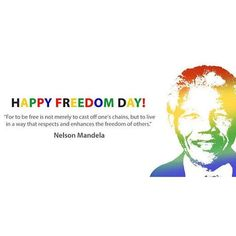 Happy Freedom Day South Africa  #FreedomDay #southafrica #nelsonmandela #respect #Peace