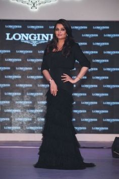 Aishwarya Rai Bachchan poses at the launch of Longines Saint Imier Collection at The Taj Palace hotel in New Delhi.