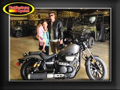 Thanks to Ellie Jo, Hannah and BJ Smith II from Mendenhall MS for getting a 2014 Yamaha Bolt R-Spec at Hattiesburg Cycles #yamaha