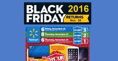Walmart Black Friday Ad 2016 PLEASE NOTE: The Dates On Walmart's Site Are Wrong! Who is excited for the Walmart Black Friday ad 2016?I know I am. Walmart