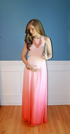 I have this dress from Kohls, which is one of my favorite dresses, I guess I can use it as a maternity dress too. :)