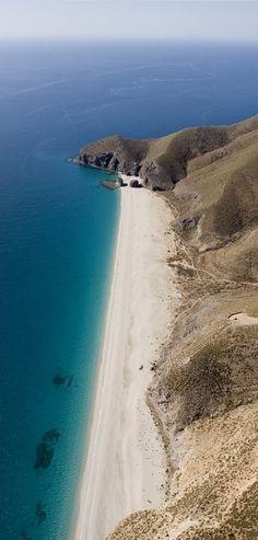 Playa de los muertos, Almeria, Spain