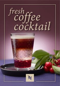 Looking for a refreshing new way to enjoy your next Nespresso moment? Check out this Fresh Coffee Cocktail recipe from Nespresso. Iced coffee gets an upgrade thanks to the mixture of rich Capriccio Grand Cru with sweet black cherries and citrusy lemonade. Enjoy this sweet icy treat as you sit on your back deck and enjoy the warmth of a beautiful summer day.