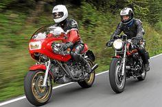 MOTORRAD CLASSIC auf Achse mit Egli-Ducati und Egli-Vincent #heritage #classicbikes #caferacer