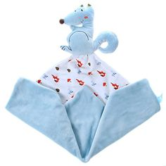 Labebe - Animal Comfort Blanket (Blue) Labebe…