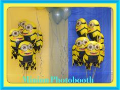 Minion Photobooth... The guest enjoyed this...