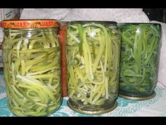 YouTube Pickles, Cucumber, Mason Jars, Cabbage, Food And Drink, Vegetables, Drinks, Cooking, Youtube