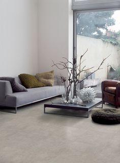 Grijze betonlook in 60x60 met een stedelijke spirit en een natuurlijke charme (19-UT) Tegelhuys