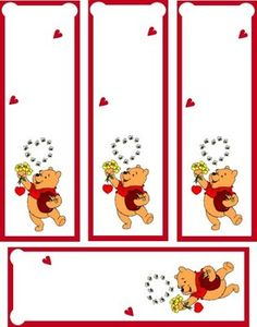 Pooh Bookmark - Bookmarks