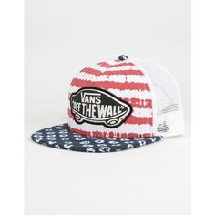 Vans Beach Girl Womens Trucker Hat ( 20) ❤ liked on Polyvore featuring  accessories 6b401ef059d