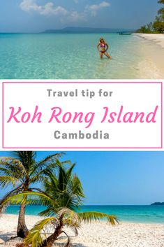 Koh Rong Island is known for its beautiful beaches and azure sea color. Koh Rong has not yet reached mass tourism, so you can visit the island quickly. #KohRong #Cambodia #VisitCambodia #TravelGuide #TravelTips #KohRongIsland