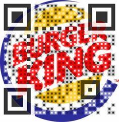 Creative Burger King QR Code!